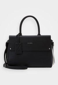 IKON MEDIUM TOP HANDLE - Handbag - black