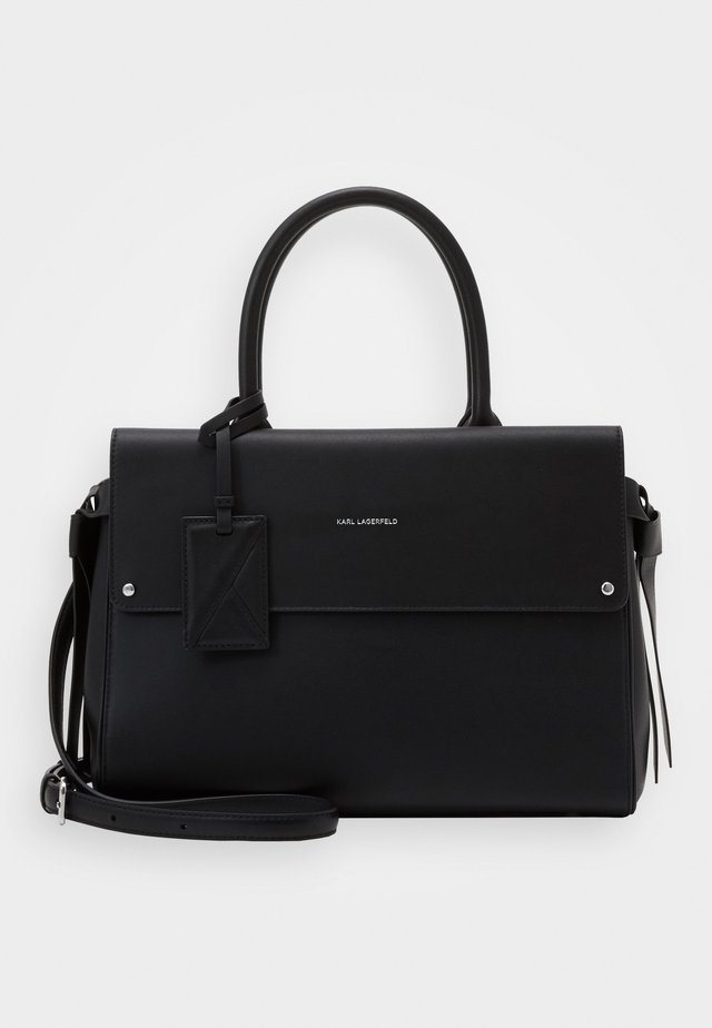 IKON MEDIUM TOP HANDLE - Sac à main - black