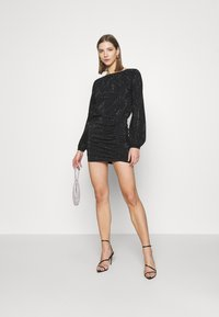 Diesel - D-RENEE-BLING-V2 DRESS - Jersey dress - black - 1
