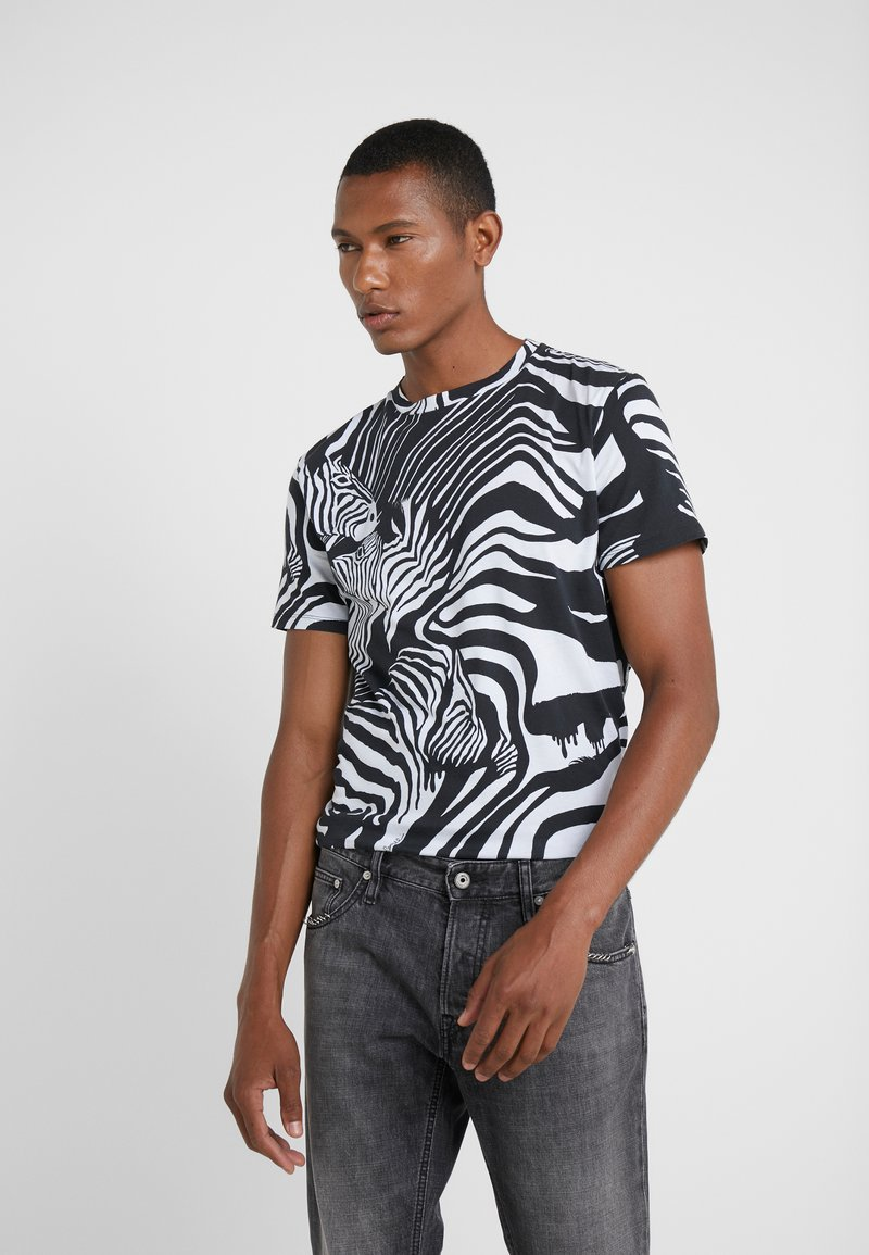 Just Cavalli - T-Shirt print - black/white