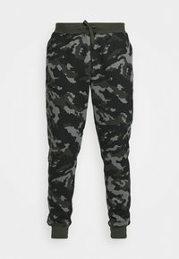 Under Armour - RIVAL - Tracksuit bottoms - baroque green - 5