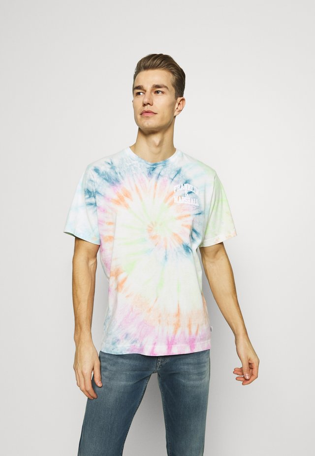 T-shirts med print - multicolor bluette