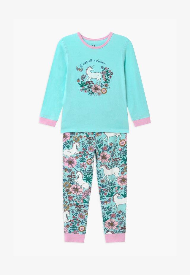 FLORENCE LONG SLEEVE  - Pyjama set - turquoise
