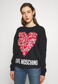 Love Moschino - Mikina - black - 0