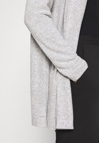 TOM TAILOR DENIM - Kardigan - light silver/grey melange - 6