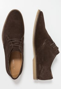 Pier One - Casual lace-ups - dark brown - 1