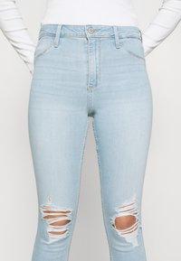 Hollister Co. - CURVY - Jeans Skinny Fit - indigo - 3