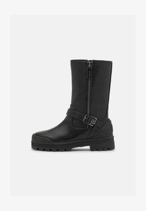 KELLY  - Platform boots - black