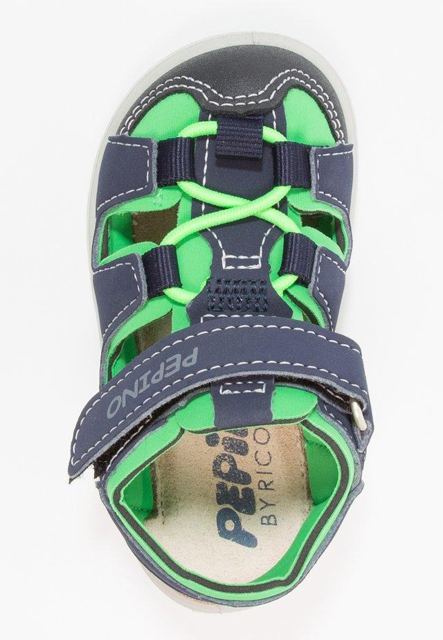 GERY - Sandales de randonnée - nautic/neongreen