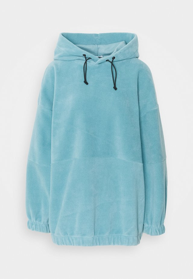 OVERSIZED HOODY - Jersey con capucha - blue