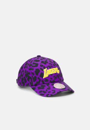NBA LOS ANGELES LAKERS WILD STYLE STRAPBACK - Cap - purple
