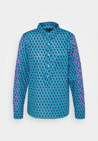 J.CREW - Button-down blouse - blue/pink - 0