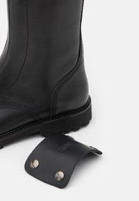 Zadig & Voltaire - JOE HIGH - Platform boots - noir - 3