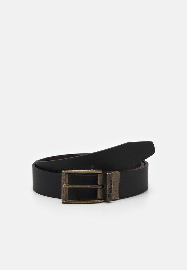 REVERSIBLE BELT GIFT BOX - Belt - black