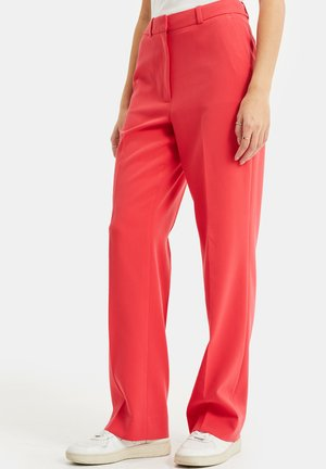 Trousers - coral pink