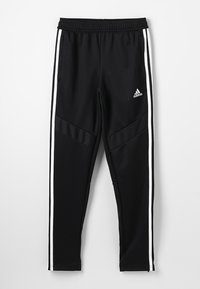 adidas Performance - TIRO AEROREADY CLIMACOOL FOOTBALL PANTS - Trainingsbroek - black/white - 0