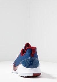 Nike Performance - MAMBA FOCUS - Basketball shoes - coastal blue/team red/white - 3