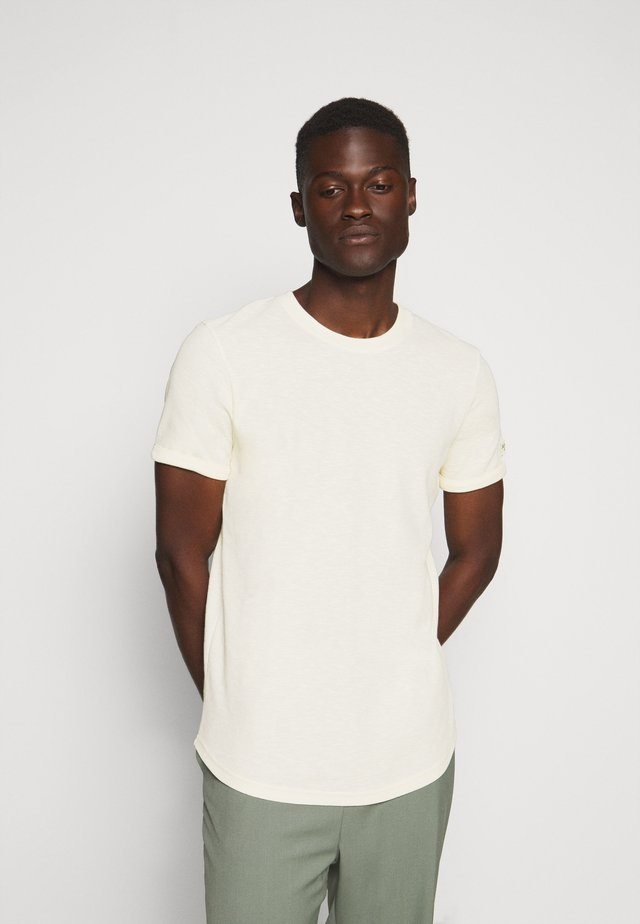 LEON - Basic T-shirt - natural