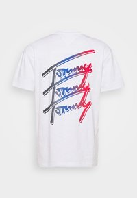 Tommy Jeans - REPEAT SCRIPT TEE UNISEX - T-shirt con stampa - white - 7