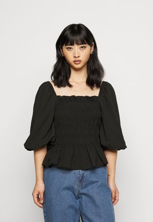 PCASDIA TOP - Blouse - black