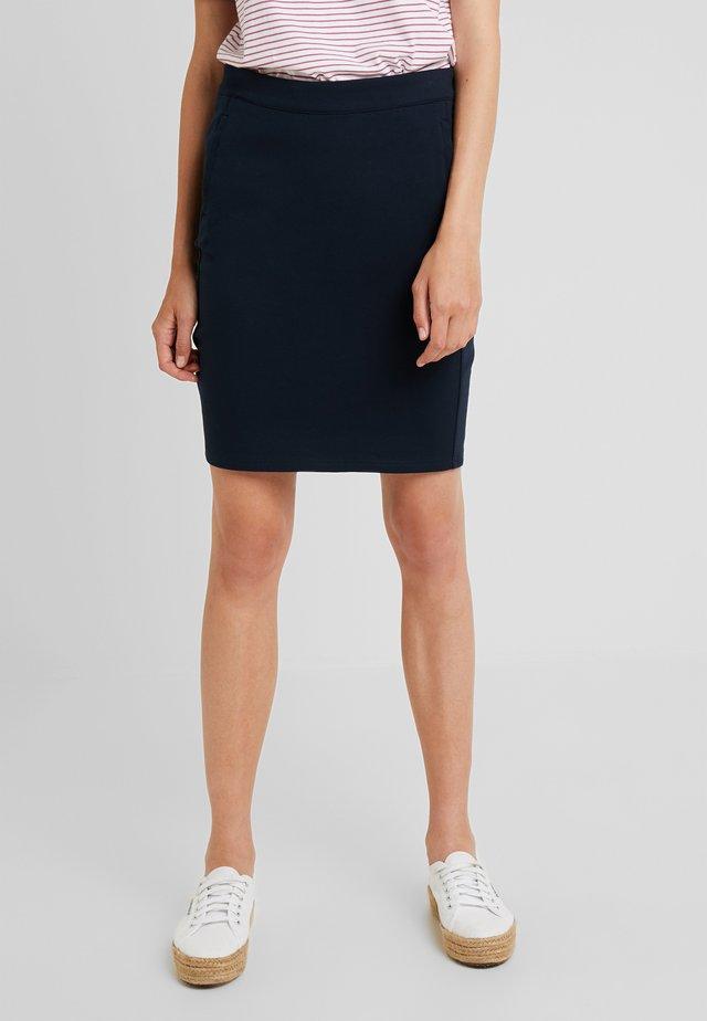 ILANO SKIRT - Pouzdrová sukně - dark sapphire