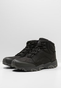 Merrell - COLDPACK ICE MID WATERPROOF - Hiking shoes -  black - 2