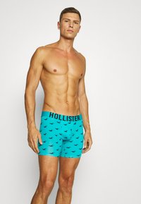 Hollister Co. - PATTERN  3 PACK - Pants - turquoise - 0