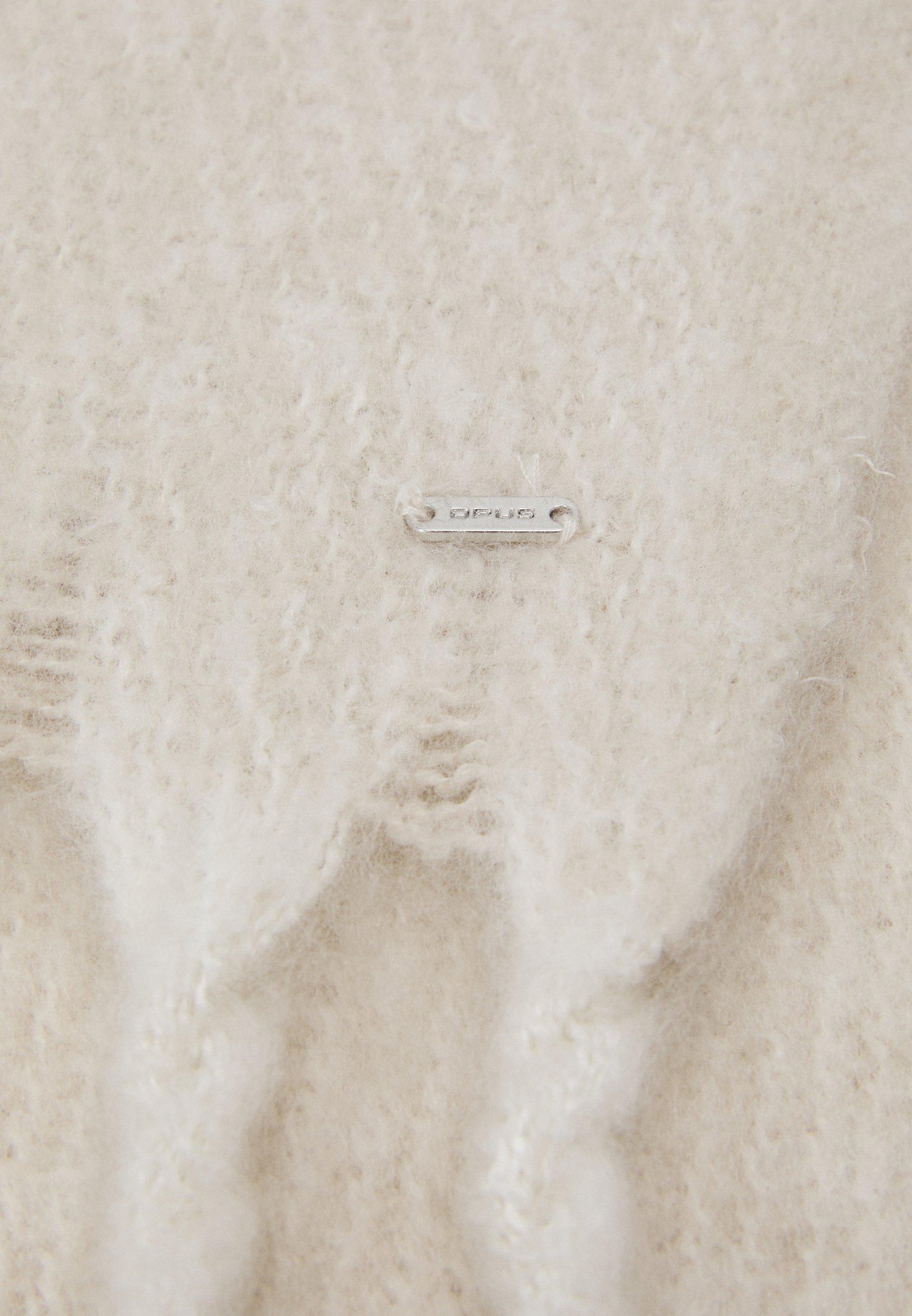 Opus AKOPI SCARF - Sjal - light stone/beige e11gTsg6qL5pOz7