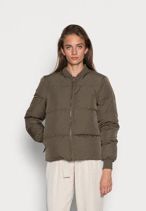 SLFDAVY DOWN JACKET - Down jacket - tarmac