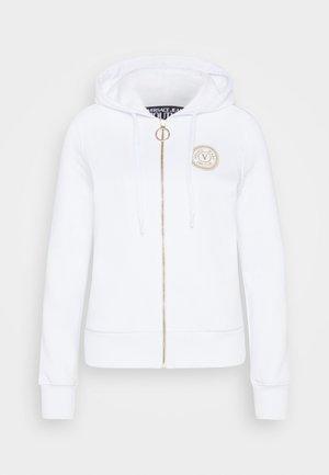 Bluza rozpinana - white/gold