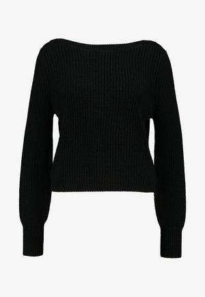 ONLATTILANA - Stickad tröja - black