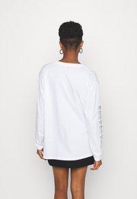 NEW girl ORDER - DOPAMINE TOP - Long sleeved top - white - 2