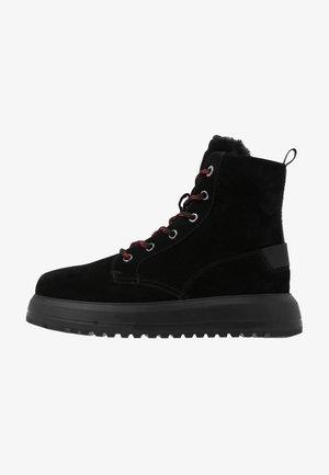 ANTWERP  - Platform ankle boots - black