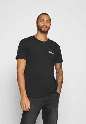 UNISEX RUSHY TEE - T-Shirt print - black