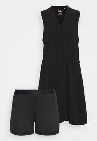 Puma Golf - NEWPORT DRESS - Sports dress - black - 8
