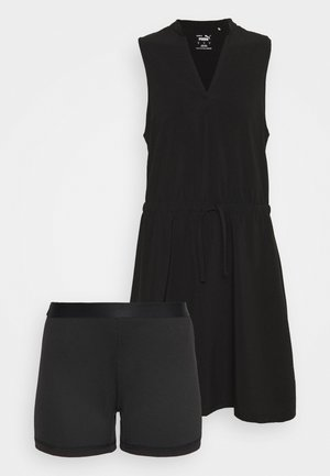 NEWPORT DRESS - Sukienka sportowa - black