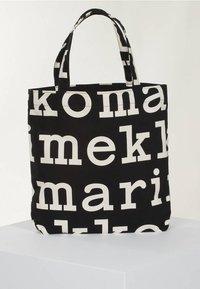 Marimekko - Tote bag - black/off white - 1