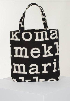 Tote bag - black/off white