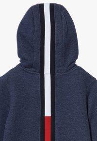 Tommy Hilfiger - BACK INSERT HOODED FULL ZIP - Zip-up hoodie - blue - 4