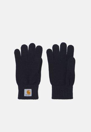 WATCH GLOVES UNISEX - Gloves - dark navy