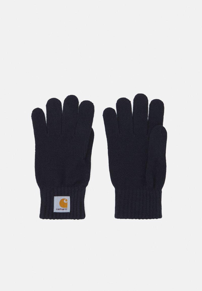Carhartt WIP - WATCH GLOVES UNISEX - Gloves - dark navy