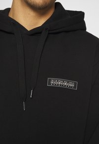 Napapijri The Tribe - PATCH UNISEX - Kapuzenpullover - black - 5