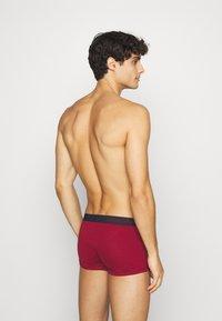 Emporio Armani - TRUNK 3 PACK - Pants - rosso borgogna - 1