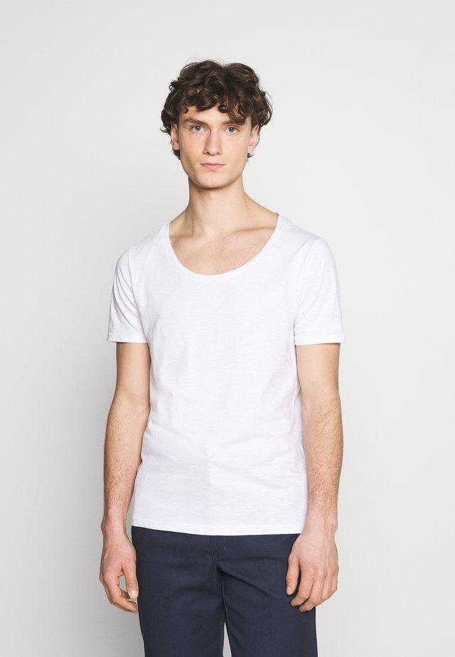 UNISEX - T-shirt - bas - white