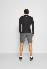 Under Armour - RIVAL TERRY SHORT - Träningsshorts - pitch gray full heather - 2