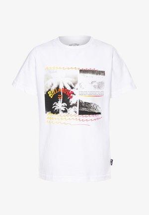 CRASH TEE BOY - Camiseta estampada - white
