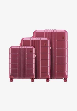 TRAIL STYLE 2 SET - Luggage set - dunkelrot