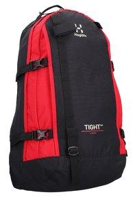 Haglöfs - TIGHT - Rucksack - true black/scarlet red - 2
