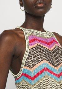 M Missoni - ABITO LUNGO SENZA MANICHE - Jumper dress - multi coloured - 3