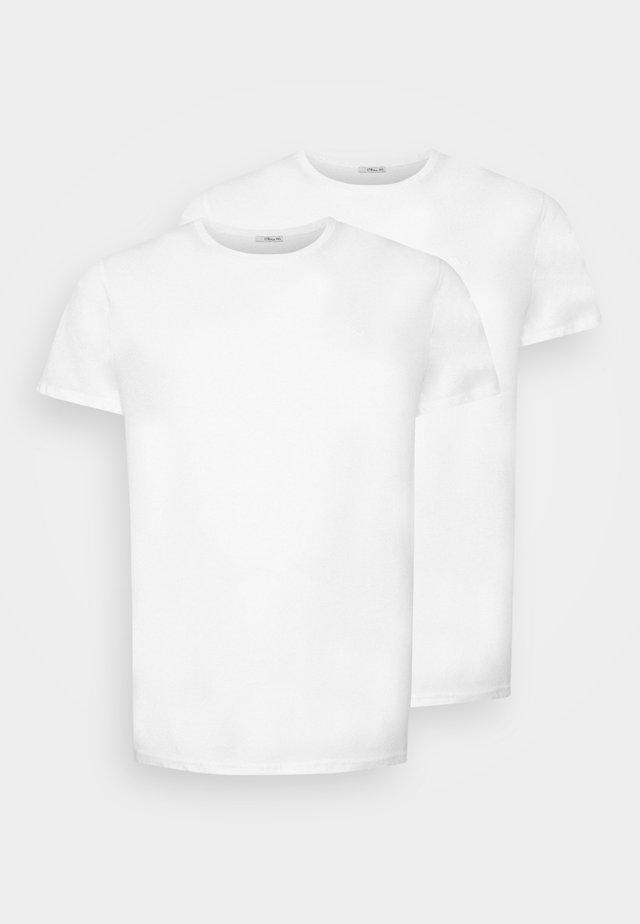 Basic T-shirt - white/ white